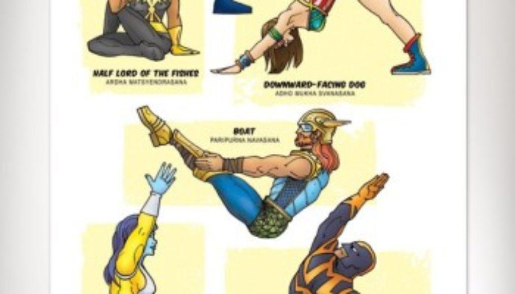 Superhero-Yoga