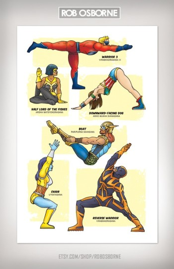 Superhero-Yoga