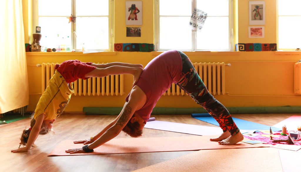 Kinderyoga Teens-Kurs