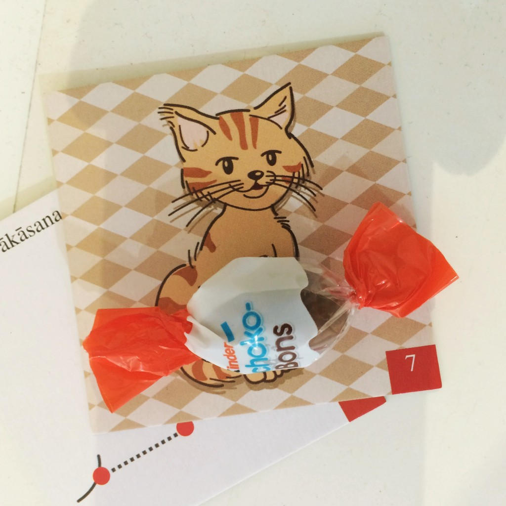 Süßes Kätzchen - Yoga Memo