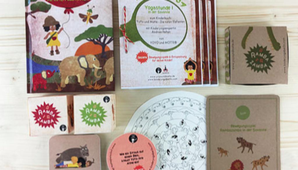 Das clevere Kinderyoga-Konzept – Elefanten