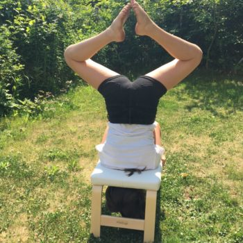 Feetup Hocker Yoga