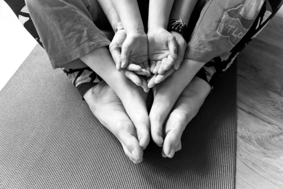 Eltern Kind Yoga © Gersin Paya