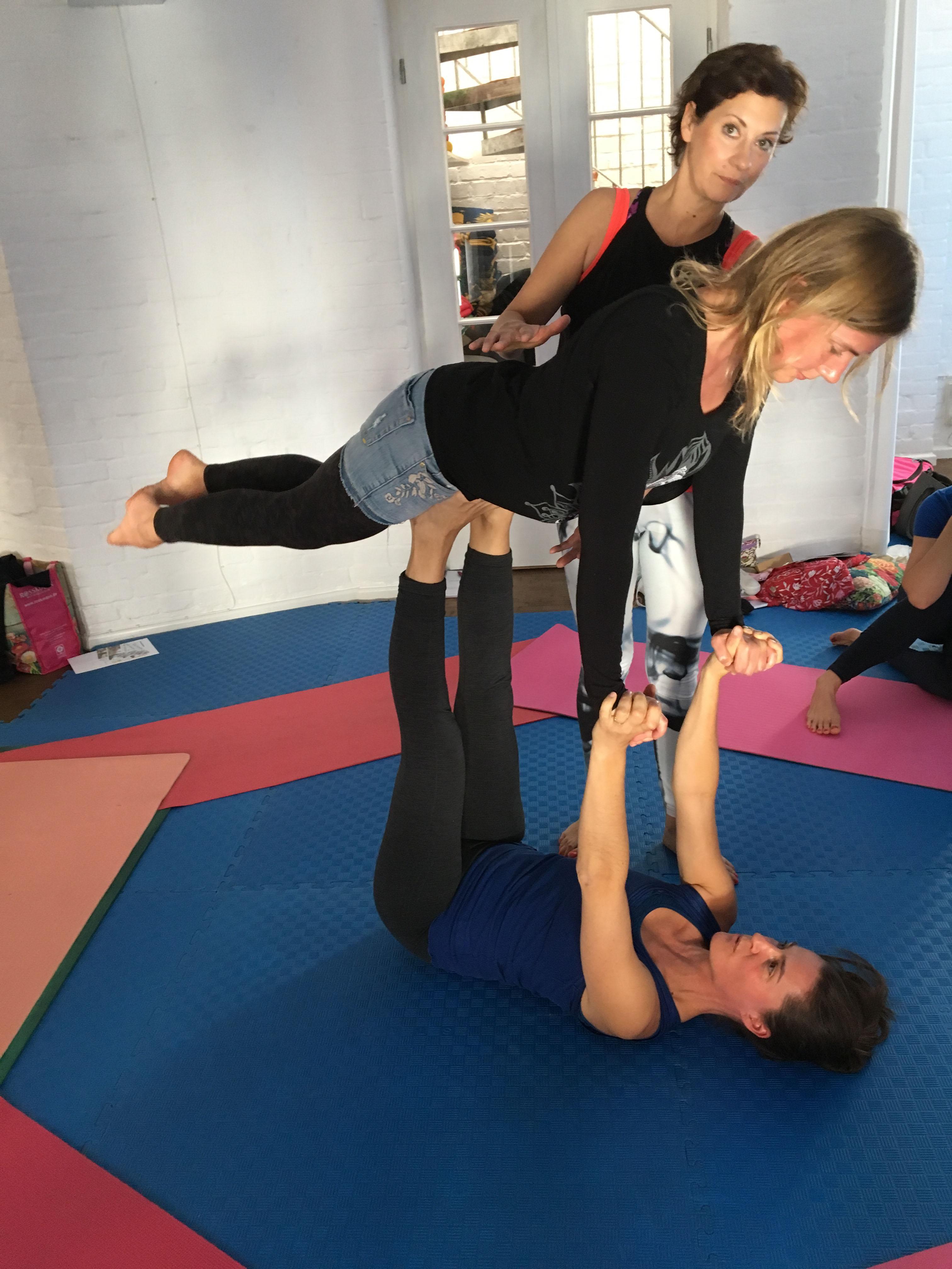 Eltern-Kind-Yogalehrerausbildung
